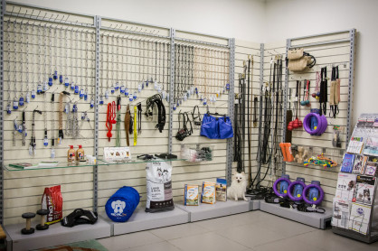 Центр дрессировки Dog Show Club. Магазин
